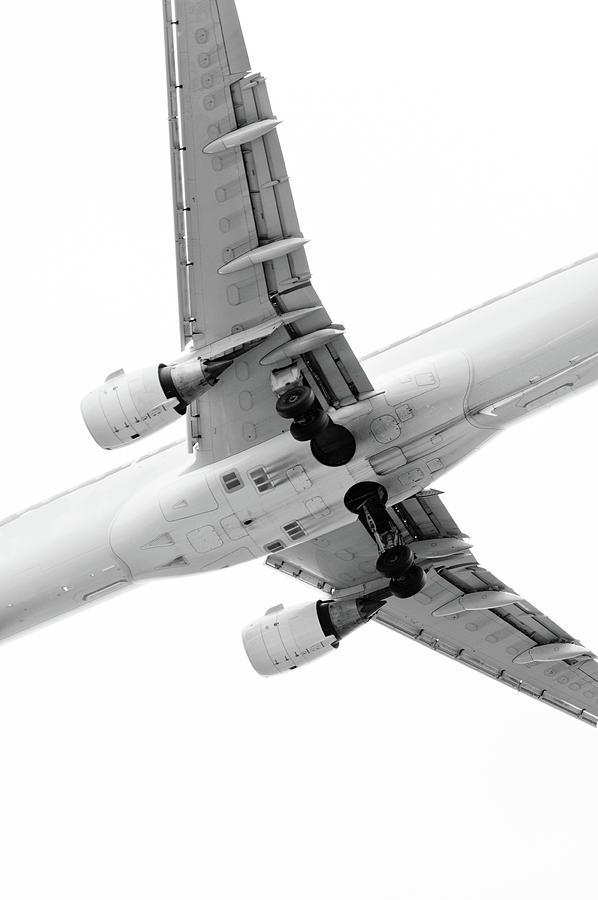 Vertical Photograph - Aircraft by Daniel Kulinski