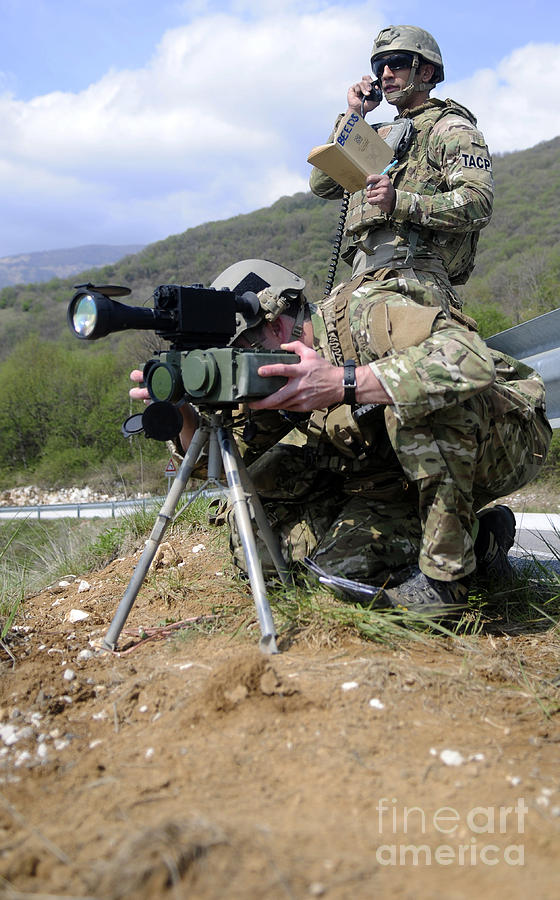 Military Photograph - Airmen Participate In A Training by Stocktrek Images