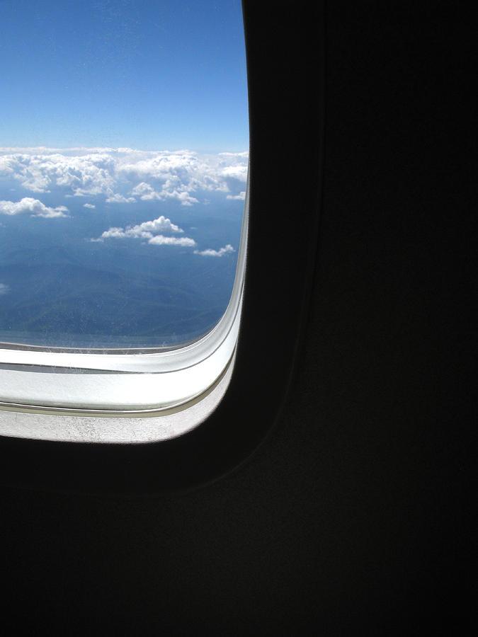 Airplane Window View By Nicholas Eveleigh