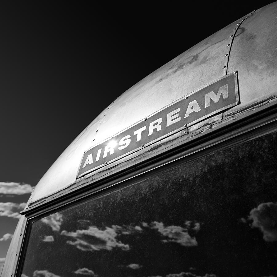 Airstream Caravan Photograph - Airstream by Dave Bowman