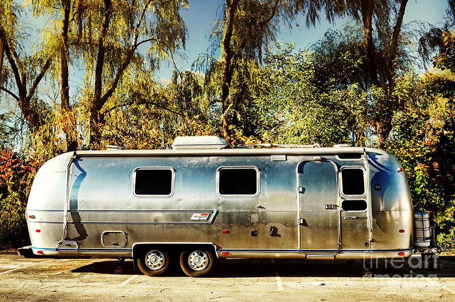 Airstream Photograph - Airstream by HD Connelly
