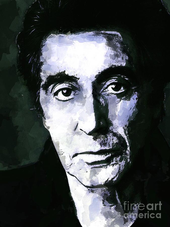 Al Pacino Painting - Al Pacino  by Andrzej Szczerski
