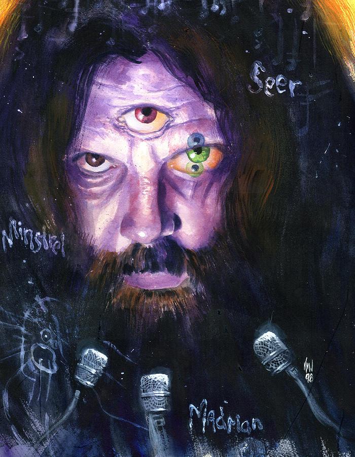 Alan Moore Painting by Ken Meyer jr