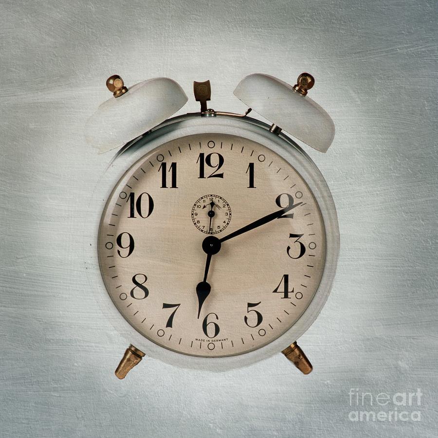 Waking Photograph - Alarm Clock by Bernard Jaubert