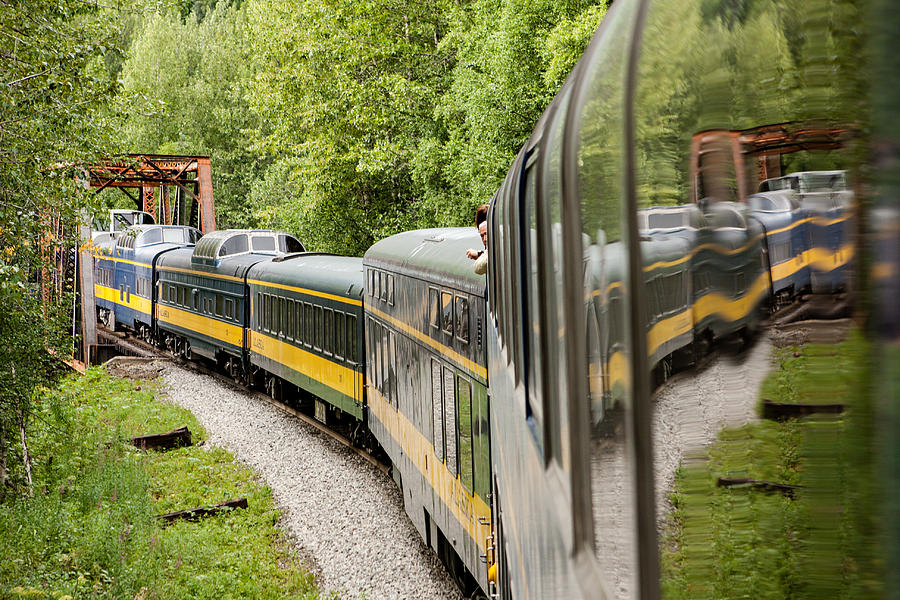 Alaska Photograph - Alaska Railroad Four by Josh Whalen