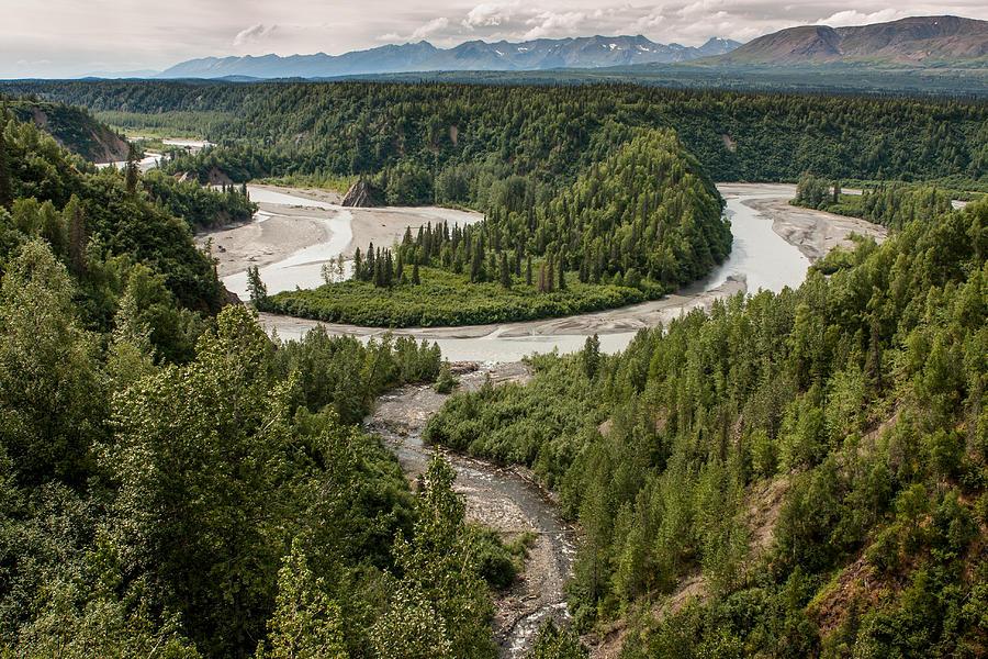 Alaska Photograph - Alaska Railroad Two by Josh Whalen