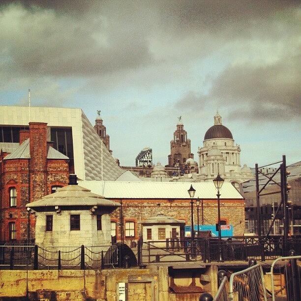 Buildings Photograph - #albertdock #liverpool #city #uk by Abdelrahman Alawwad