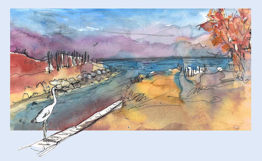 Travel Painting - Albufera De Valencia 15 by Miki De Goodaboom