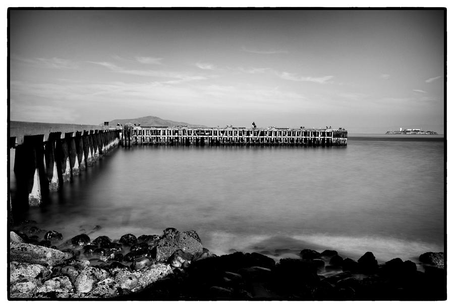 San Francisco Photograph - Alcatraz From Fort Point by Tanya Harrison