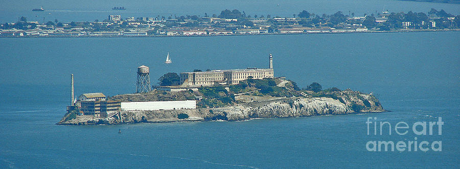 San Francisco Photograph - Alcatraz In April by Suze Taylor