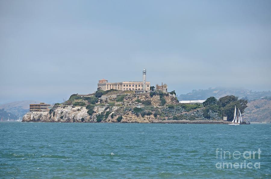 Alcatraz Island Photograph - Alcatraz Island by Cassie Marie Photography