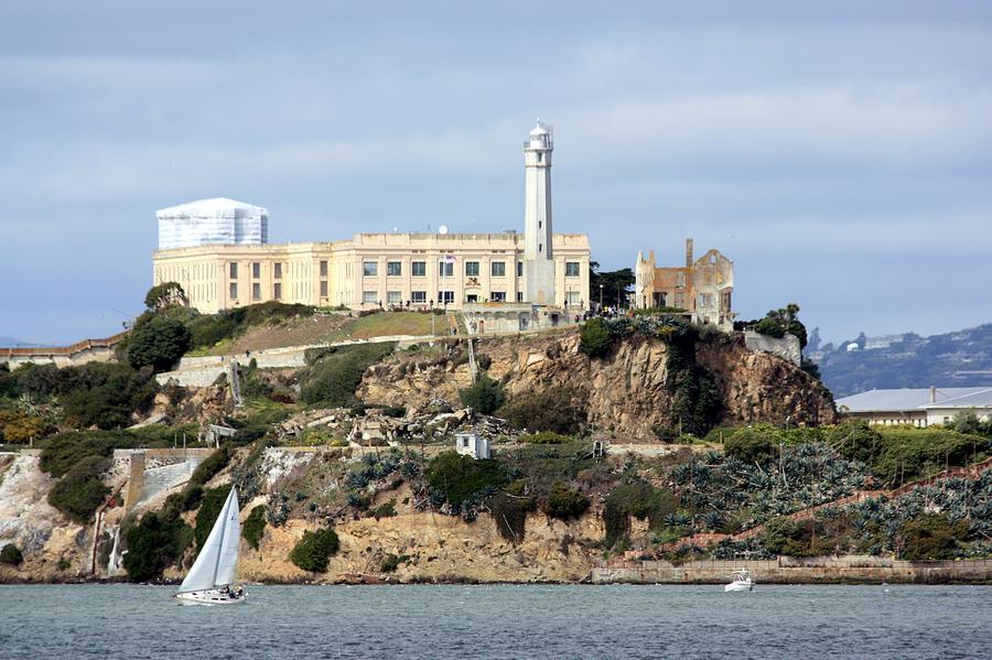Horizontal Photograph - Alcatraz Island by Luiz Felipe Castro