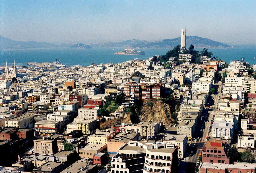 City Photograph - Alcatraz by Trent Mallett
