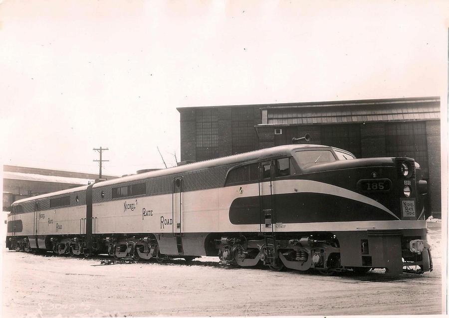 Alcoa Ge Passenger Locomotive by Lawrence Christopher