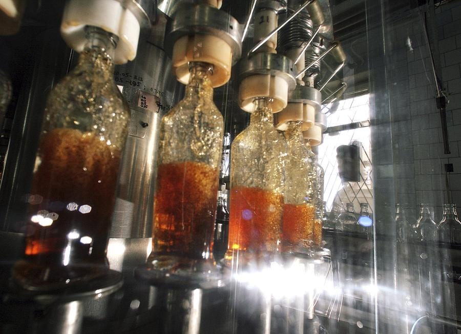 Equipment Photograph - Alcoholic Drinks Production, Russia by Ria Novosti