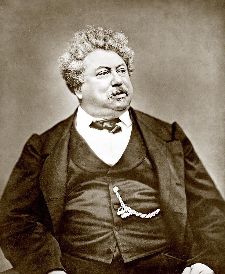 2008-2 Photograph - Alexandre Dumas Père 1802-1870 Popular by Everett