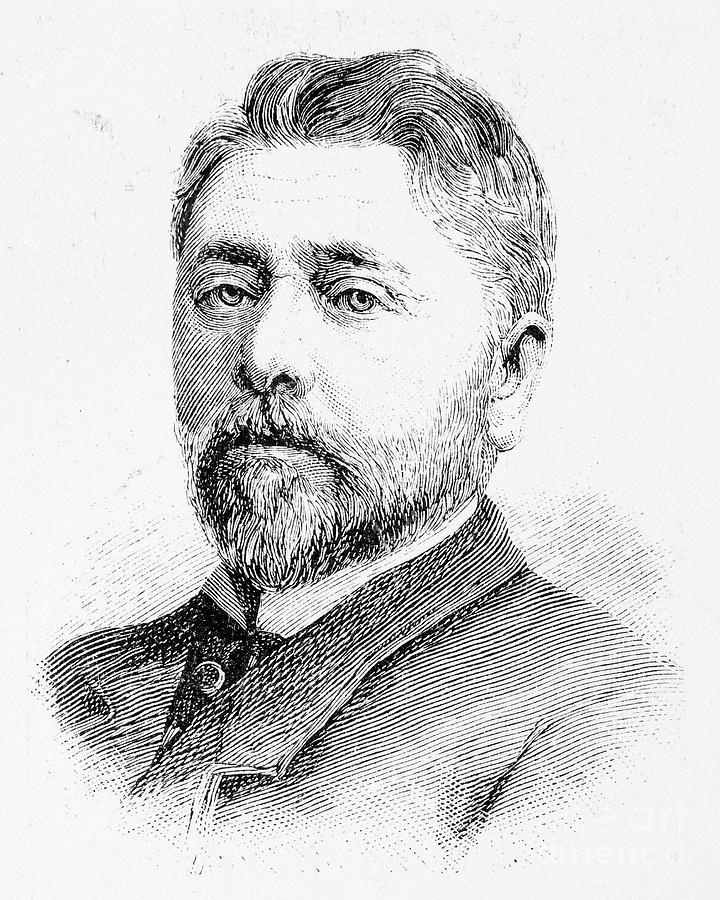 Alexandre Gustave Eiffel Photograph By Granger