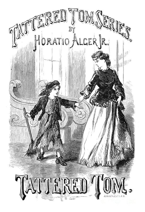 19th Century Photograph - Alger: Tattered Tom by Granger