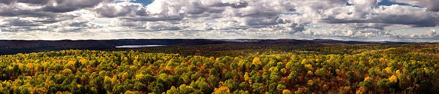 Algonquin Photograph - Algonquin Park Panorama by Cale Best