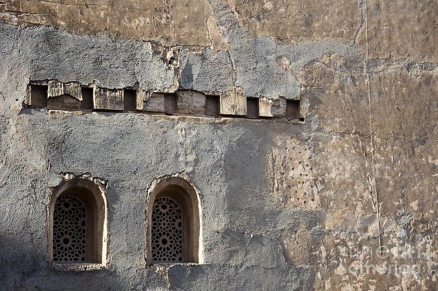 Alhambra Photograph - Alhambra Wall by Agnieszka Kubica