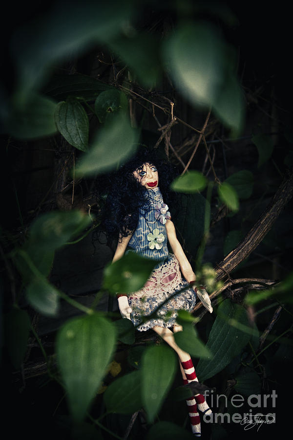 Wonderland Photograph - Alice Is Near by Cris Hayes