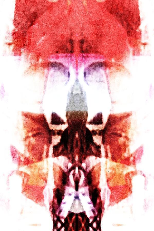 Alien Digital Art - Alien King by Andrea Barbieri