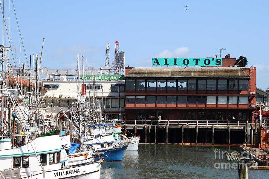 Alioto S Restaurant San Francisco California