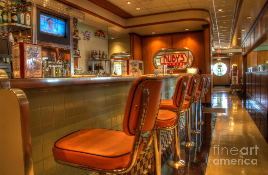 Rubys Photograph - All American Diner 3 by Bob Christopher