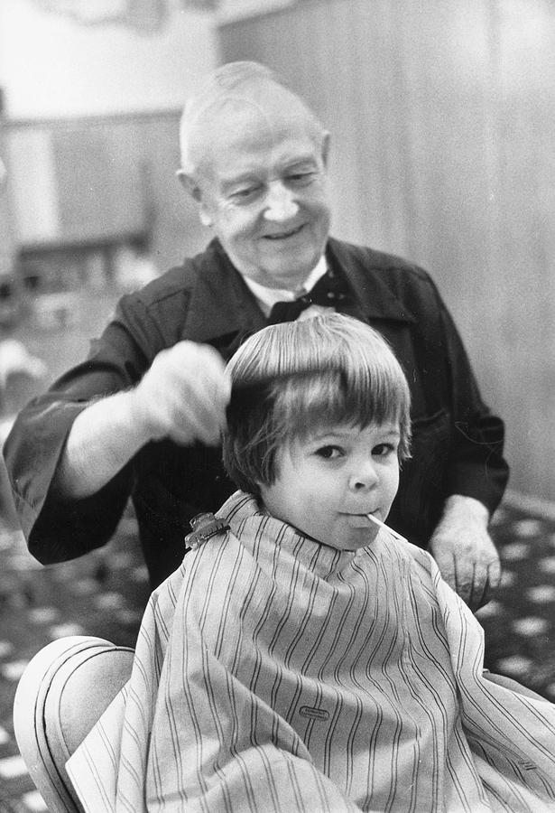 Child Photograph - All Combed Out by Three Lions