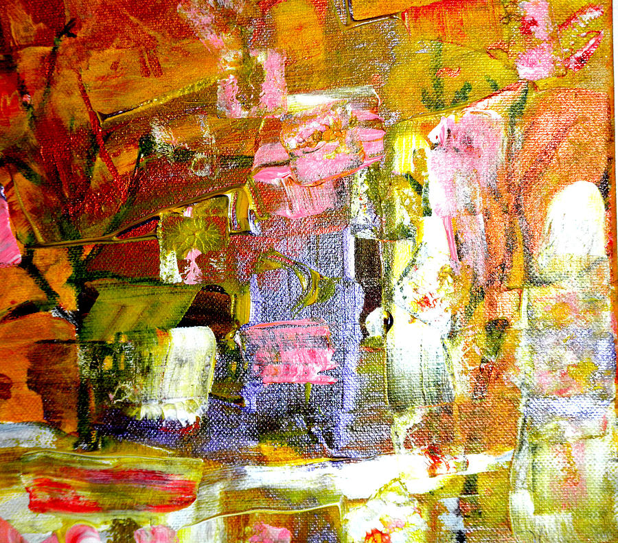 Abstract Painting - All Day Long by Wayne Potrafka