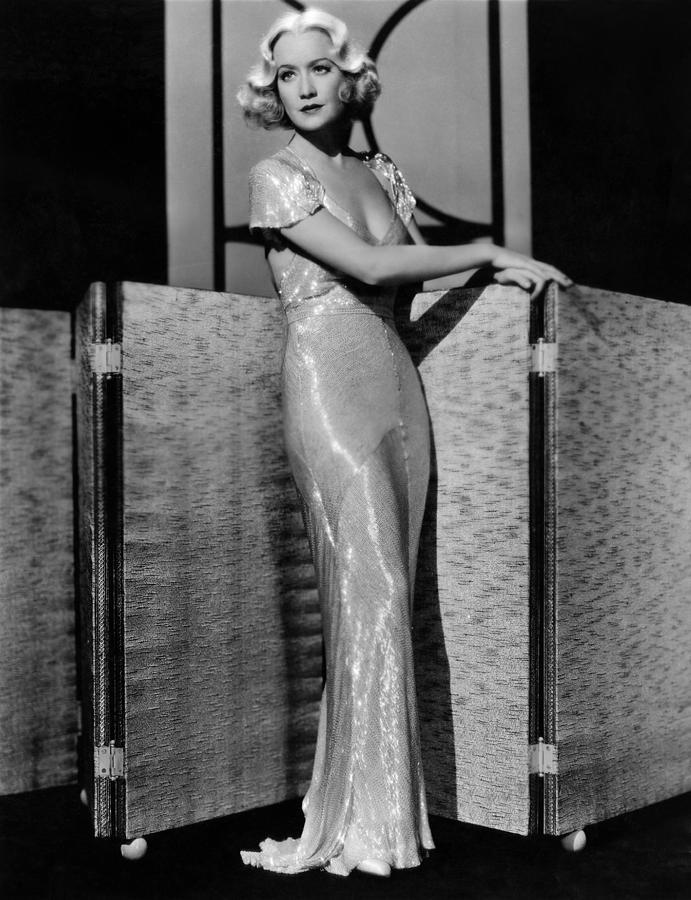 1930s Fashion Photograph - All Of Me, Miriam Hopkins, 1934 by Everett