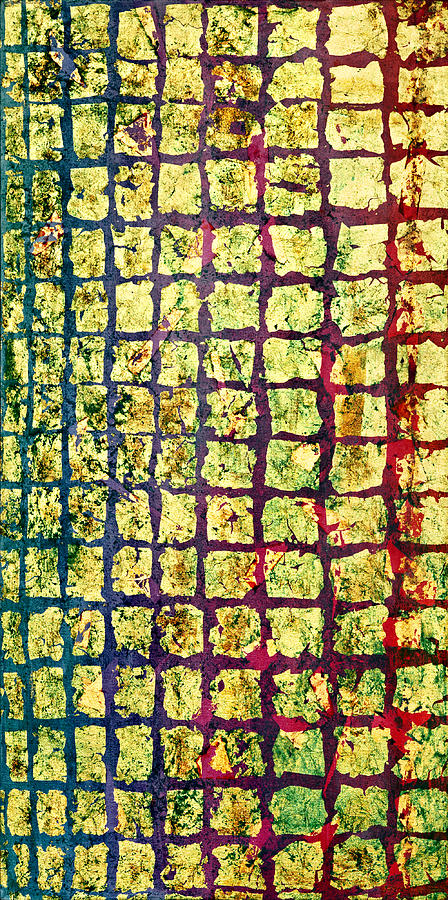 Gold Painting - All That Glitters 1 by Rita Bentley