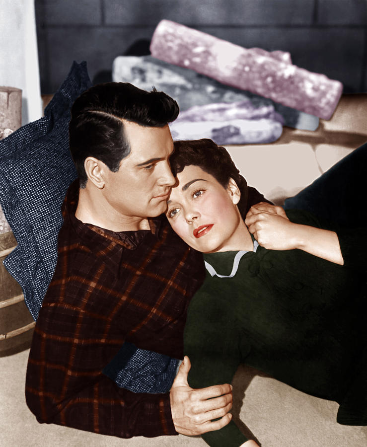 Couple Photograph - All That Heaven Allows, From Left Rock by Everett