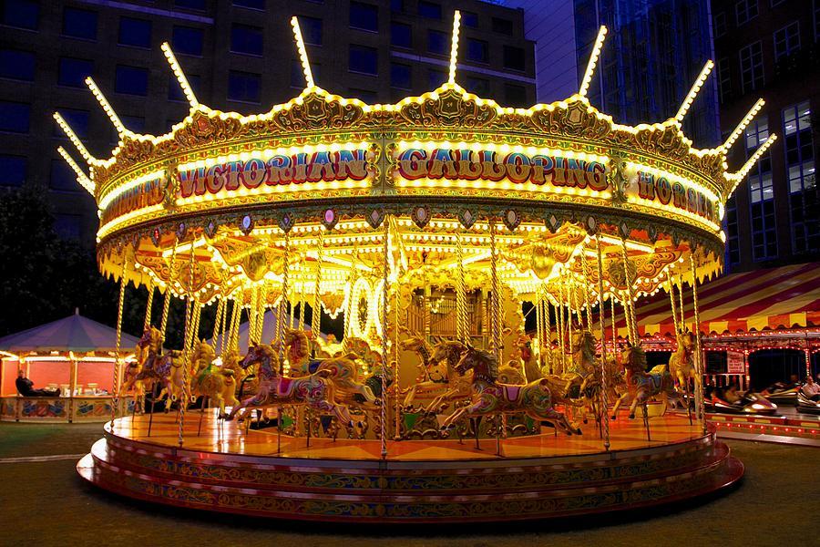 Victorian Photograph - All The Fun Of The Fair by Sean Foreman