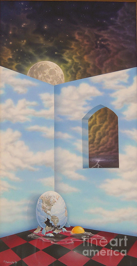 Surrealism Painting - All The Kings Horses by Arley Blankenship