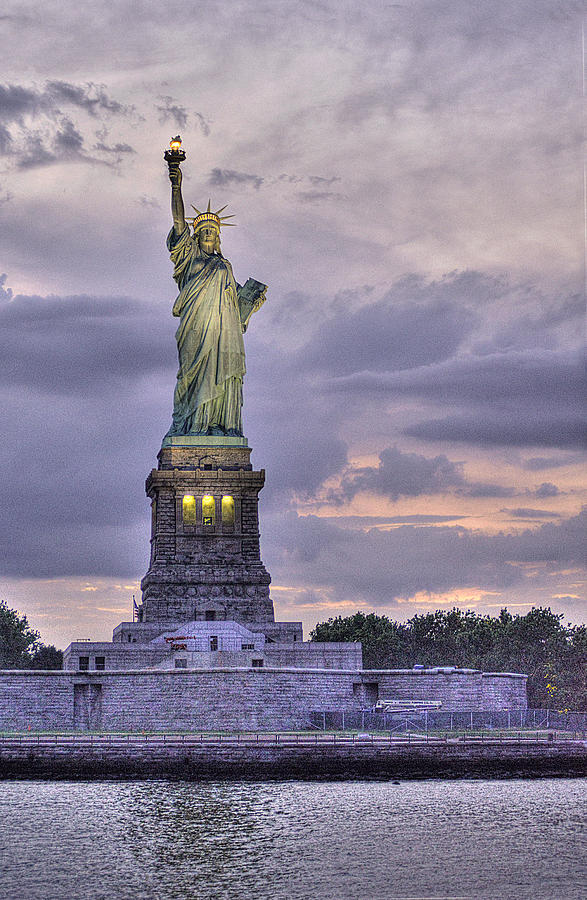 The Statue Of Liberty Photograph - Allegory Of Liberty by William Fields
