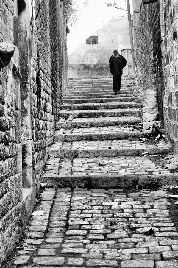 Alley Photograph - Alley by Okan YILMAZ