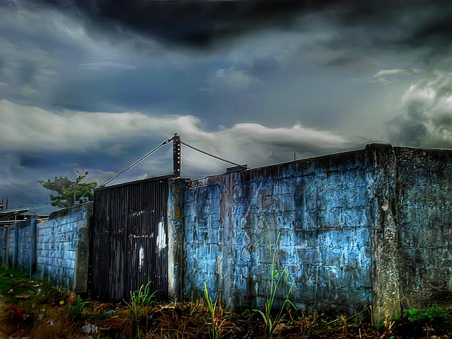Blue Wall Photograph - Almirante by Dolly Sanchez