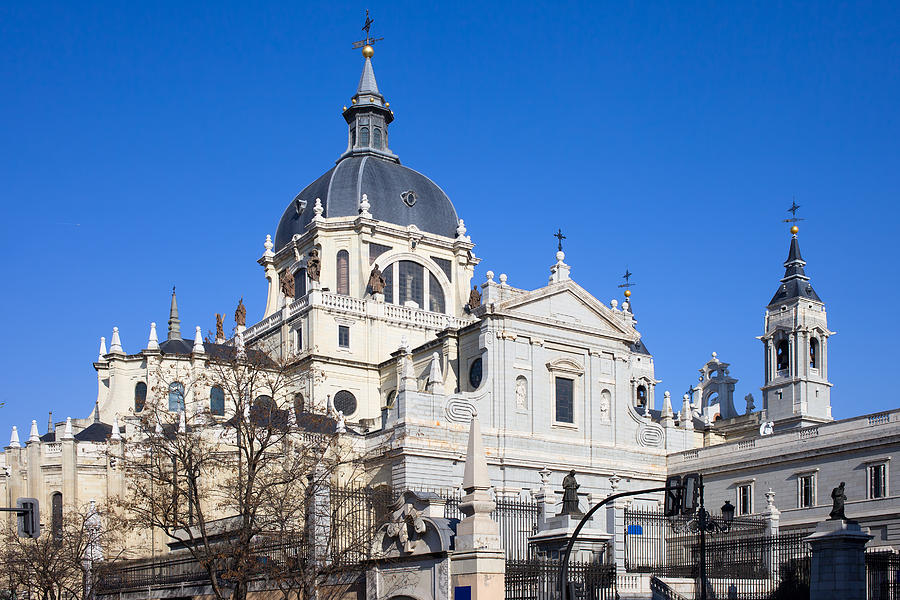 Madrid Photograph - Almudena Cathedral In Madrid by Artur Bogacki