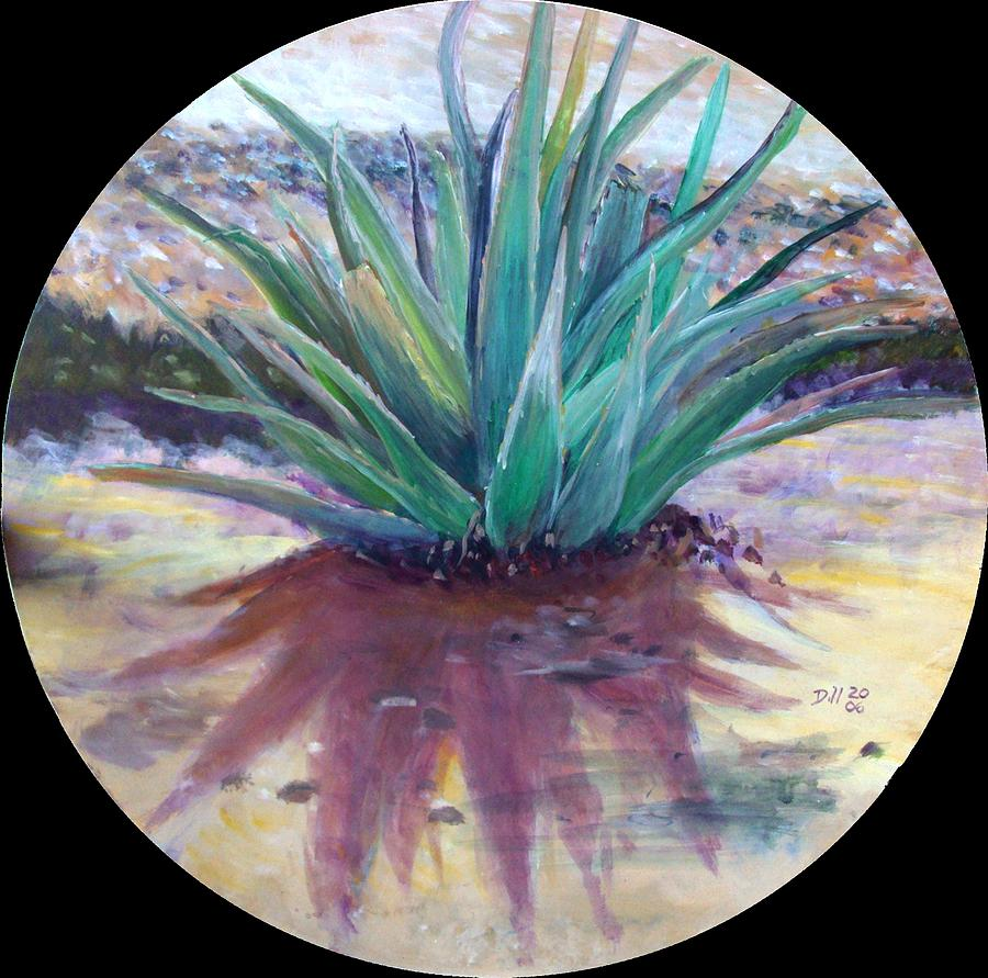 Aloe Painting by Rust Dill