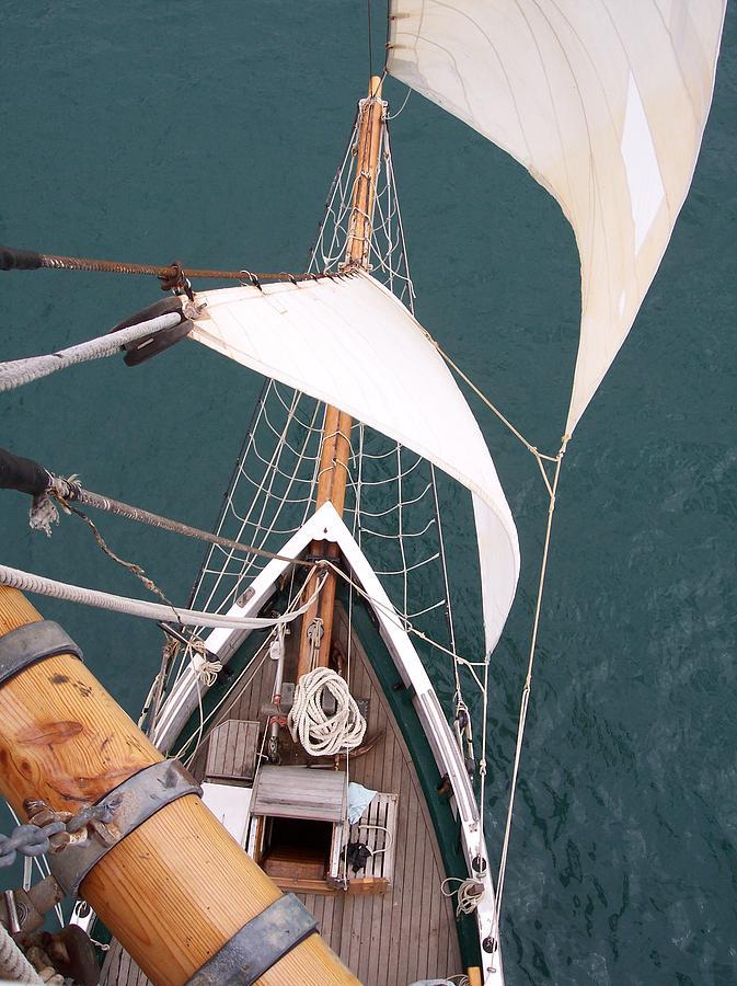 Sailing Photograph - Aloft by David Barringhaus