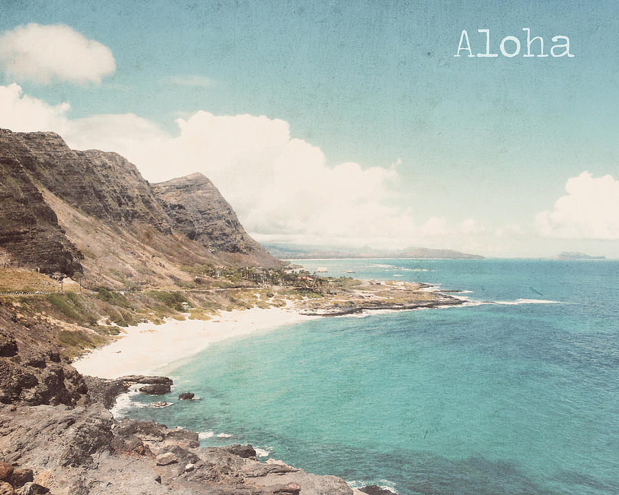 Hawaii Photograph - Aloha by Nastasia Cook