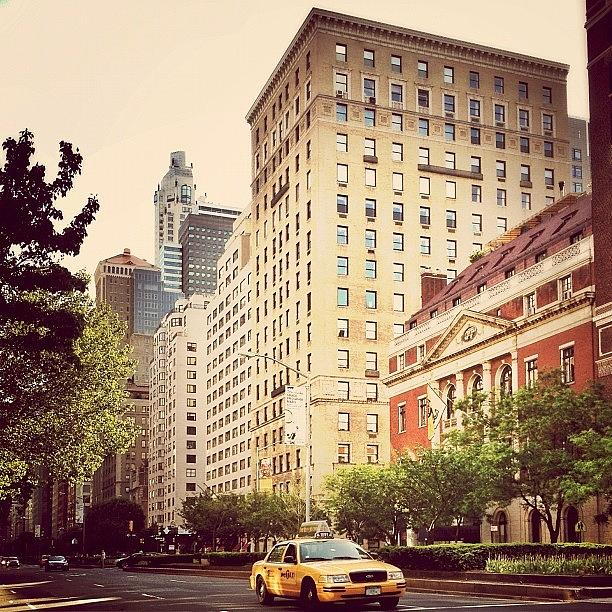 New York City Photograph - Along Park Avenue - New York City by Vivienne Gucwa