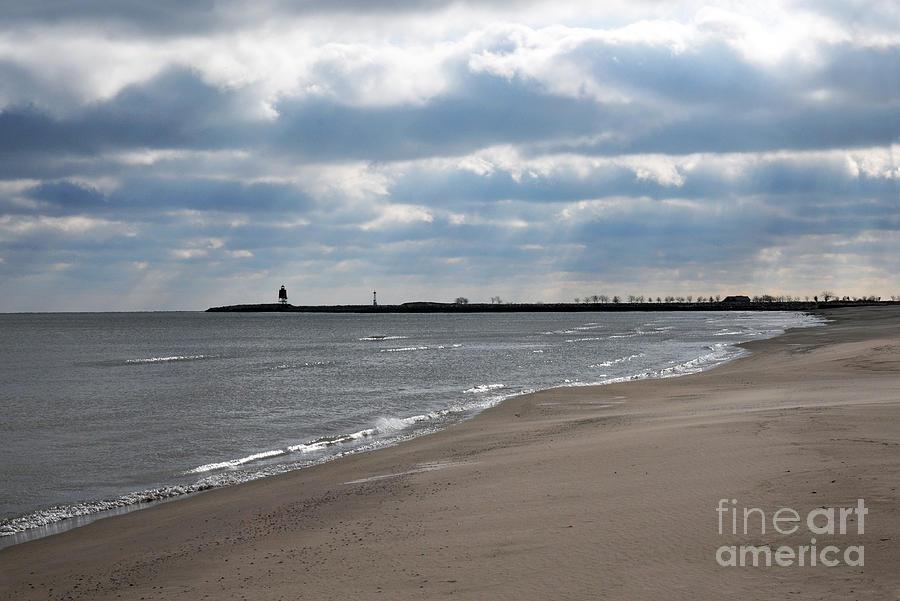 Beach Photograph - Along The Shore by Dan Holm