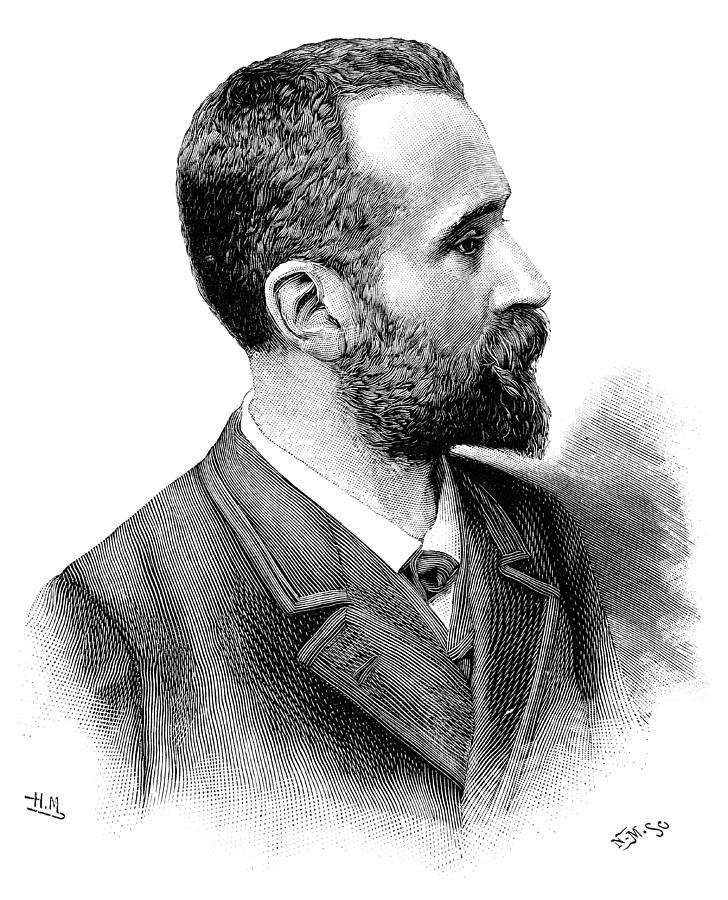 Alphonse Bertillon Photograph - Alphonse Bertillon, French Police Officer by
