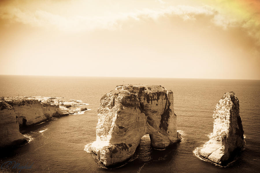 Sea Photograph - Alrawsharock by Amr Miqdadi