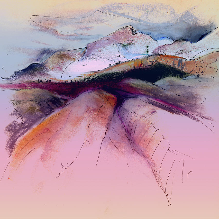 Spain Painting - Altea La Vieja In Spain 17 by Miki De Goodaboom