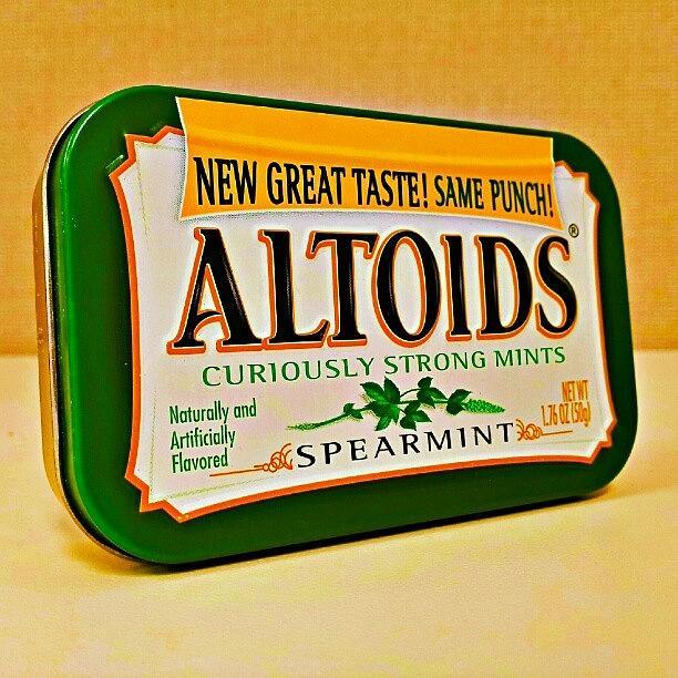 Altoids Photograph - #altoids A Study-curiously Strong by Harvey Christian