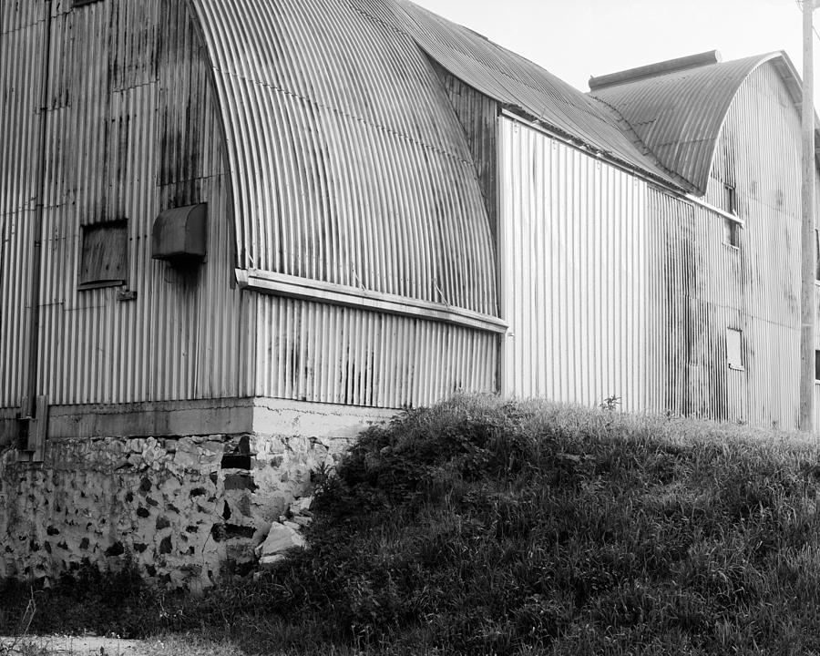 19th Century Farming Photograph - Aluminum Unique Barn Section by Jan W Faul