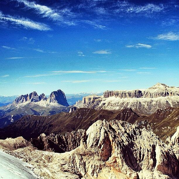 Outdoor Photograph - Always Dolomites. Marmolada by Luisa Azzolini